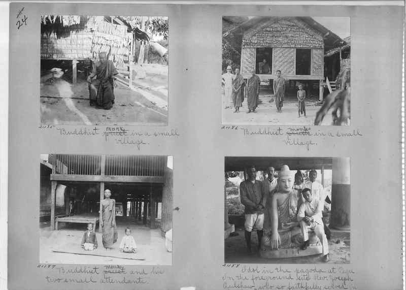 Mission Photograph Album - Burma #1 page 0024