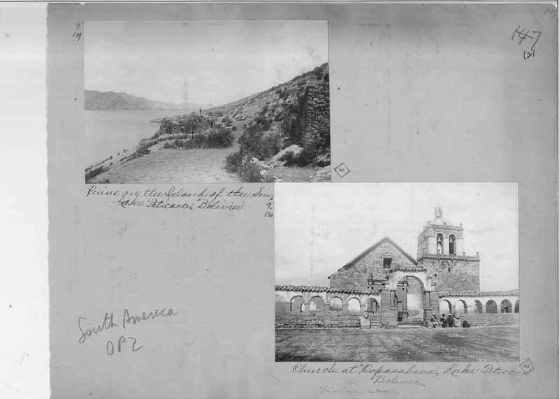 Mission Photograph Album - South America O.P. #2 page 0121