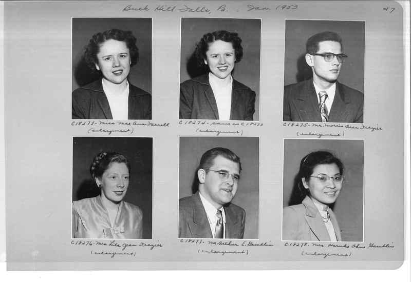 Mission Photograph Album - Portraits #08 Page 0027