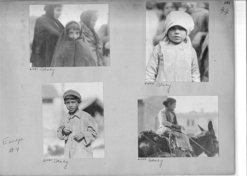 Mission Photograph Album - Europe #04 Page 0101