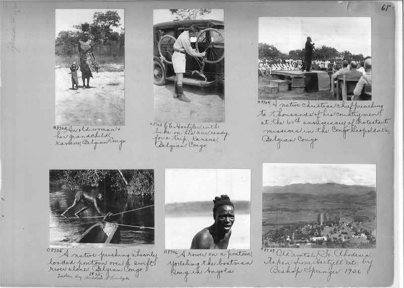 Mission Photograph Album - Africa #15 page 0061