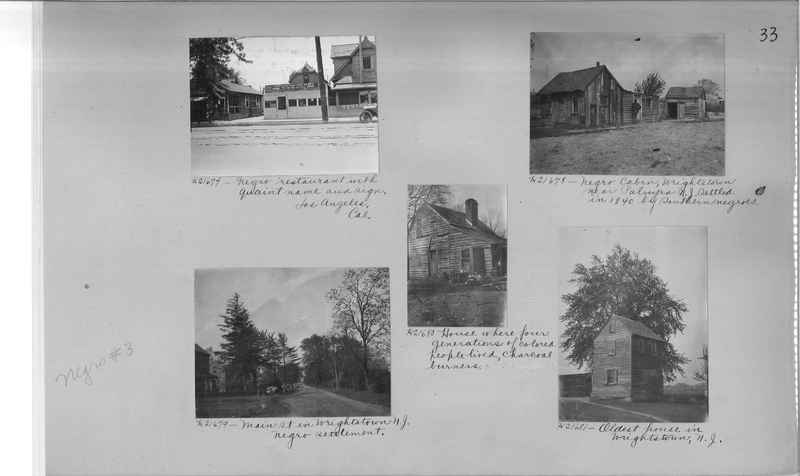 Mission Photograph Album - Negro #3 page 0033