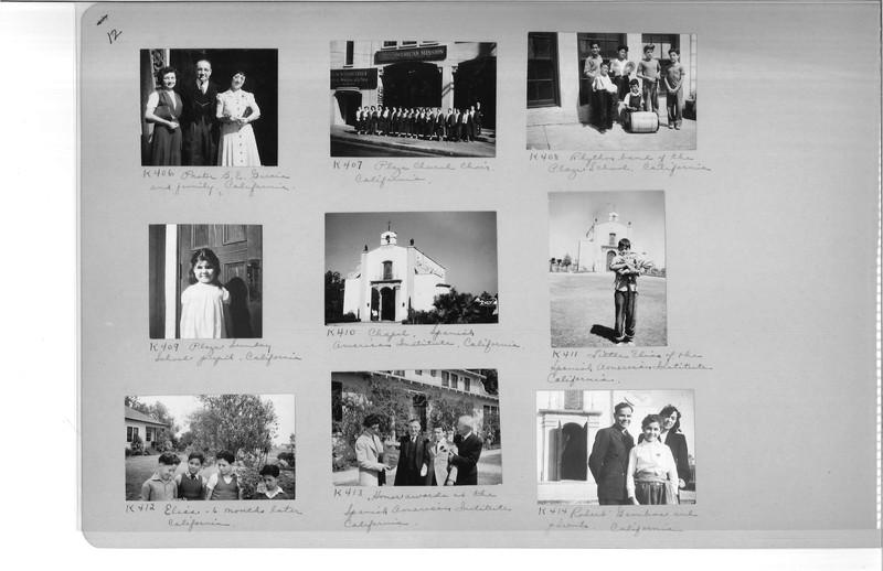 Mission Photograph Album - Latin America #3 page 0012