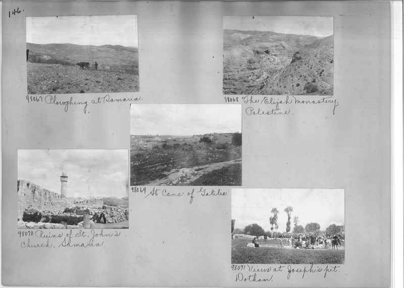 Mission Photograph Album - Western Asia - #01 page_0146