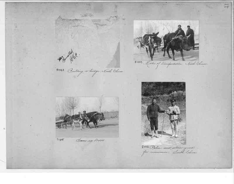 Mission Photograph Album - China #10 pg. 0215
