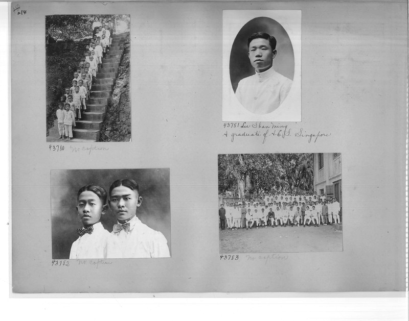 Mission Photograph Album - Malaysia #2 page 0214