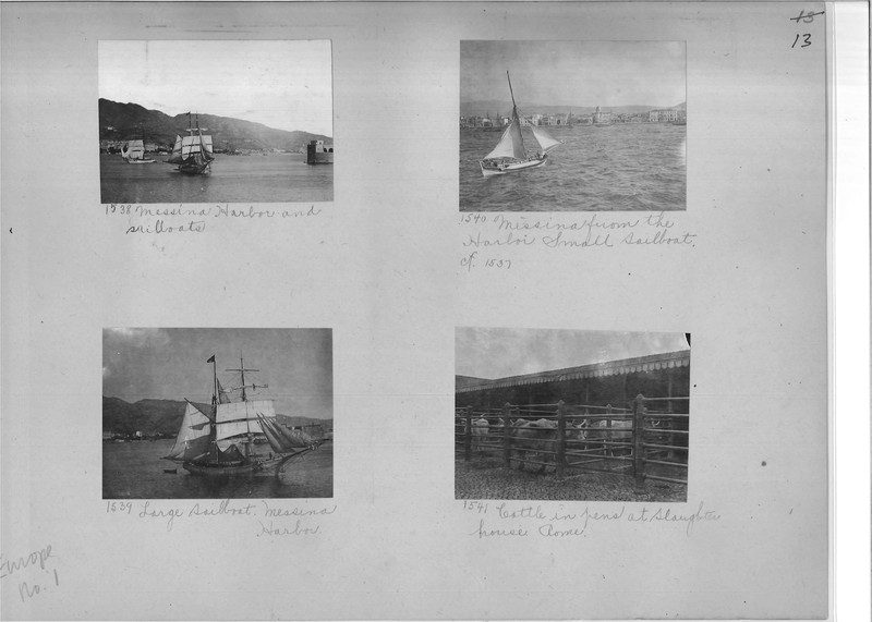 Mission Photograph Album - Europe #01 Page 0013