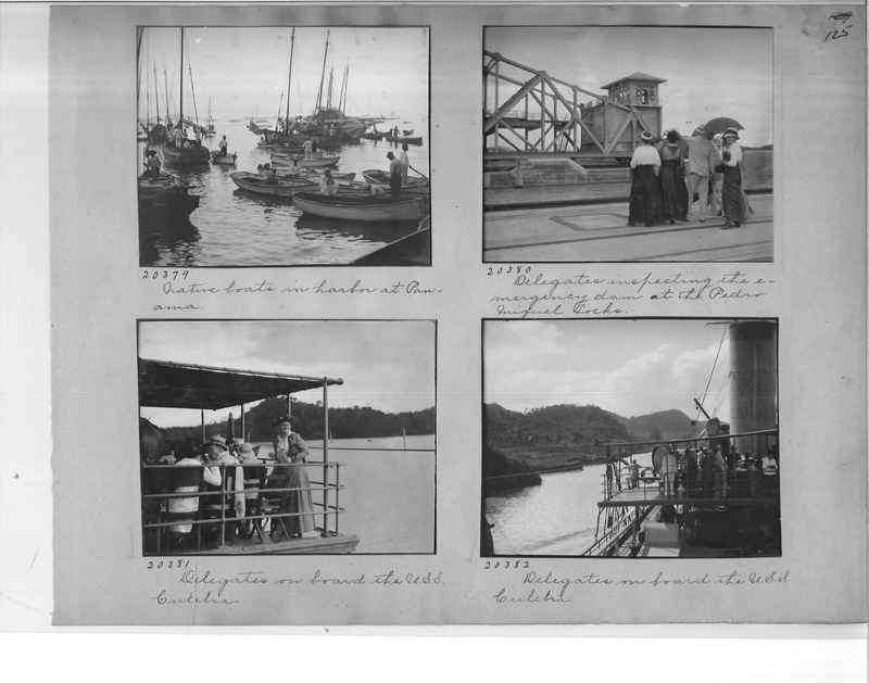 Mission Photograph Album - Panama #1 page  0125