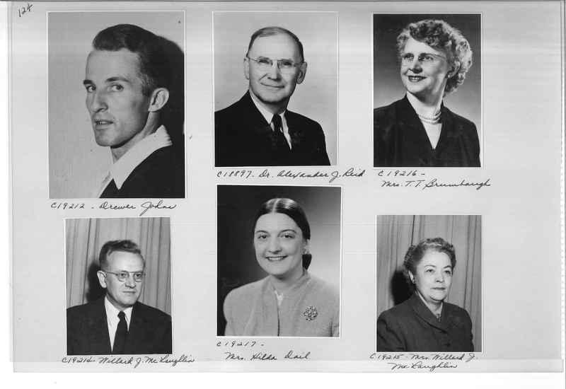Mission Photograph Album - Portraits #08 Page 0124