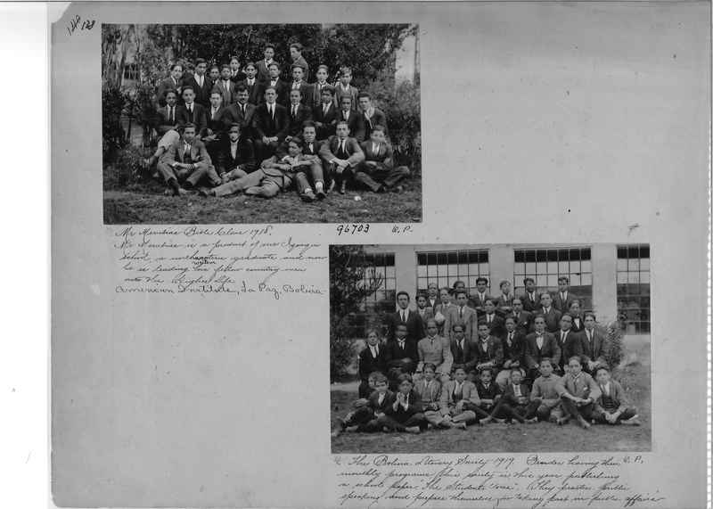 Mission Photograph Album - South America O.P. #1 page 0138