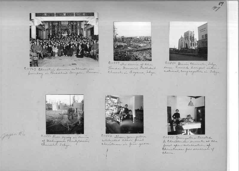 Mission Photograph Album - Japan #06 Page 0089