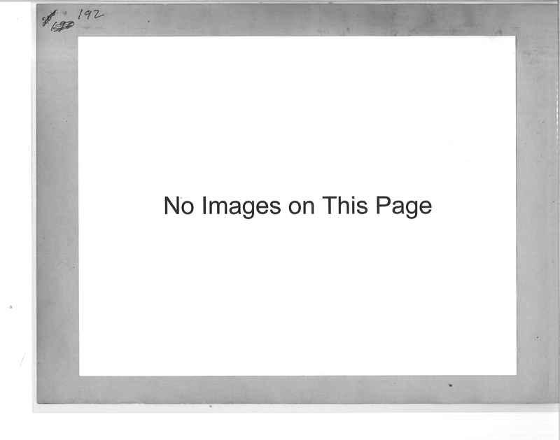 Mission Photograph Album - Panama #1 page  0192
