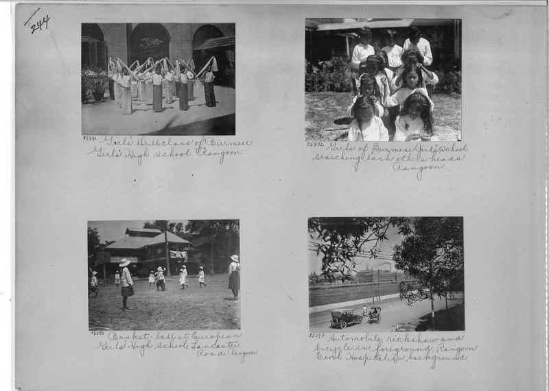 Mission Photograph Album - Burma #1 page 0244
