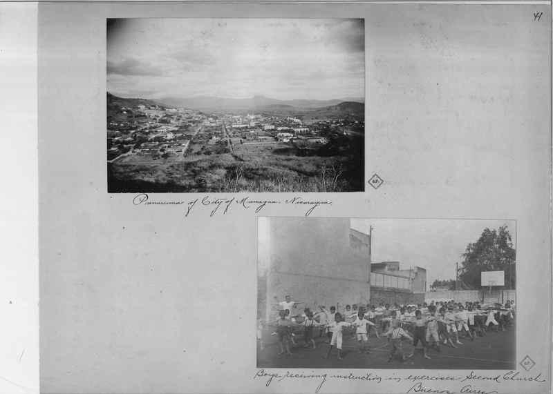 Mission Photograph Album - South America O.P. #3 page 0041