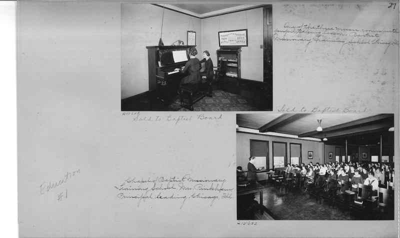 Mission Photograph Album - Education #1 page 0027