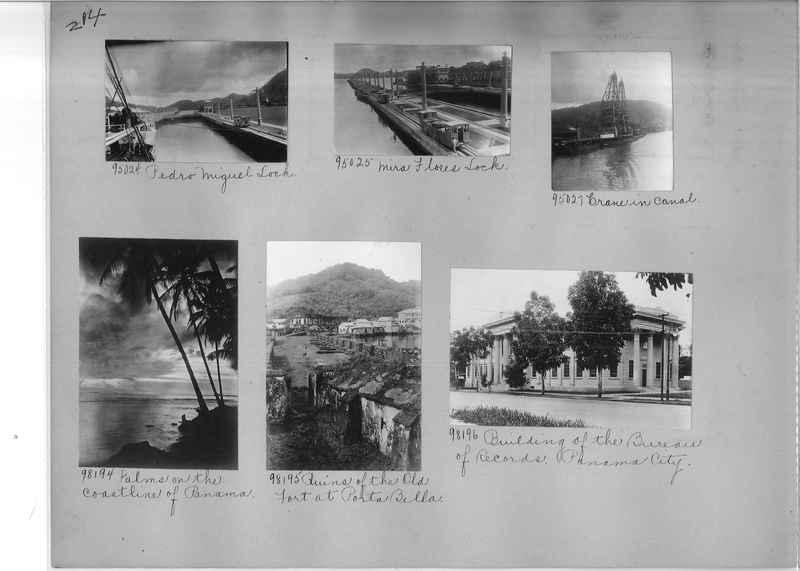Mission Photograph Album - Panama #04 page 0214
