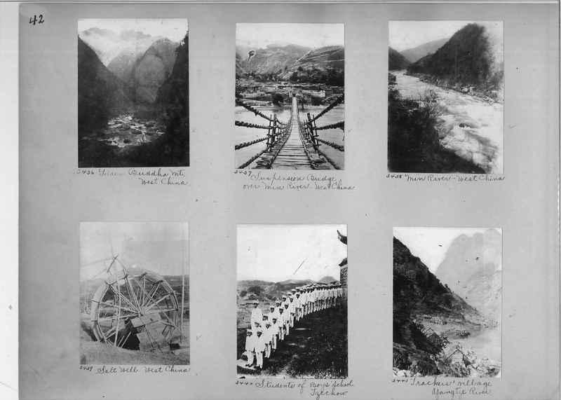 Mission Photograph Album - China #2 page  0042