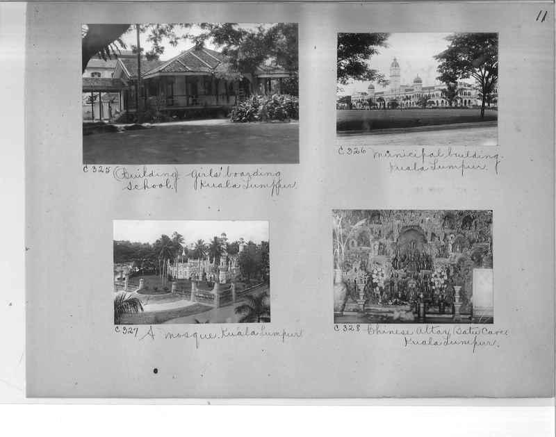 Mission Photograph Album - Malaysia #7 page 0011