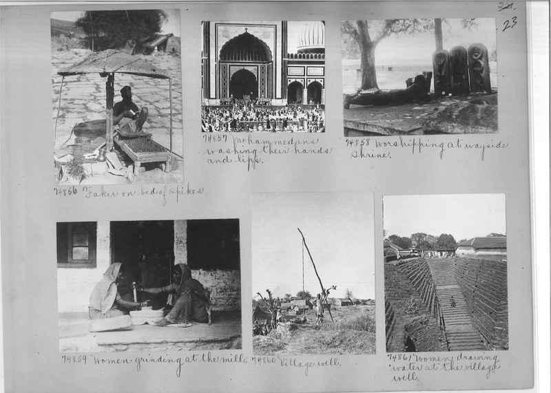 Mission Photograph Album - India #09 Page 0023