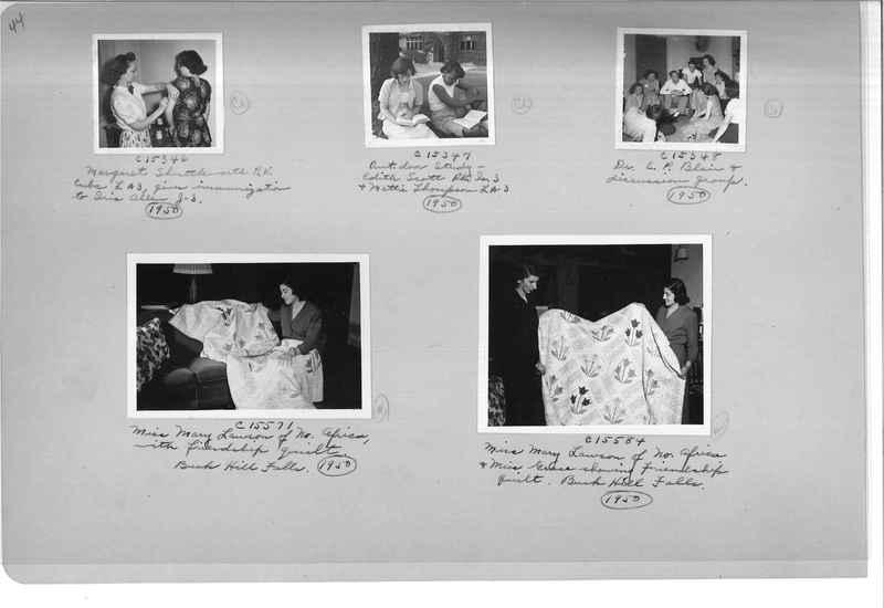 Mission Photograph Album - Portraits #13 Page 0044