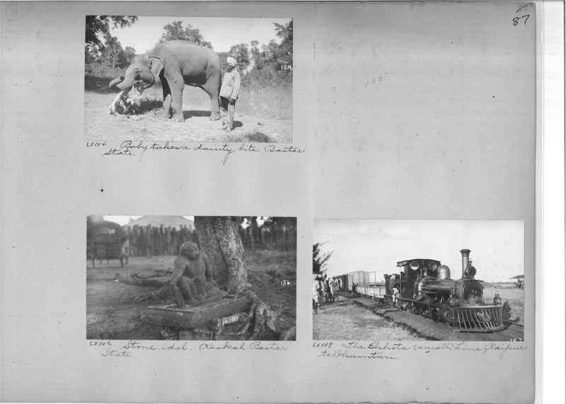 Mission Photograph Album - India #08 Page 0087