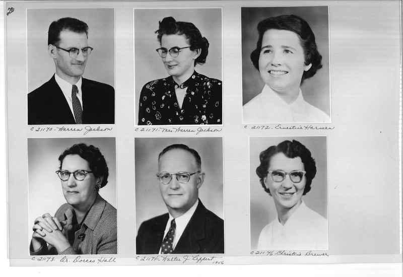Mission Photograph Album - Portraits #10 Page 0020