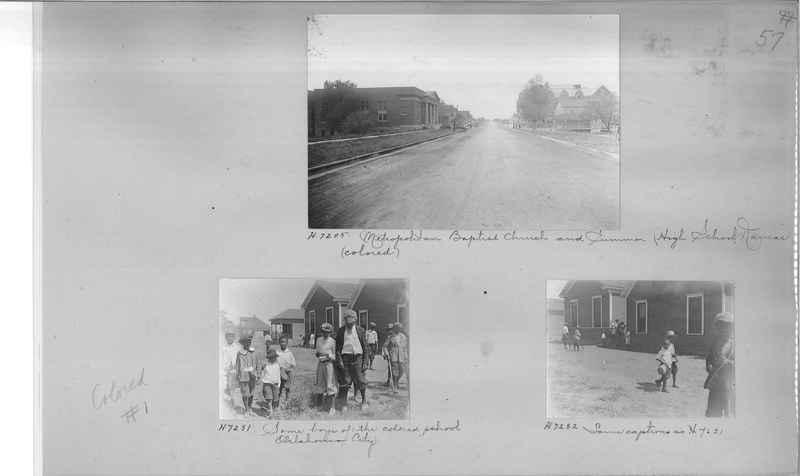 Mission Photograph Album - Negro #1 page 0057