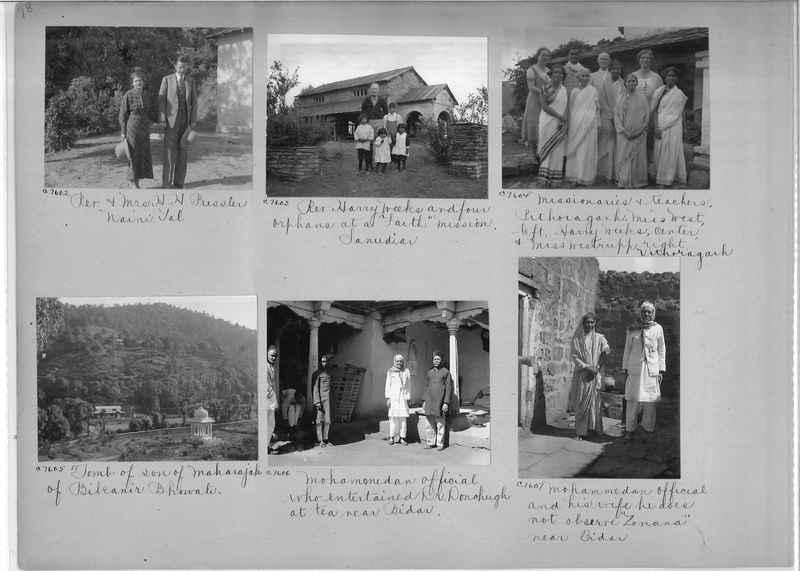 Mission Photograph Album - India #13 Page 0078