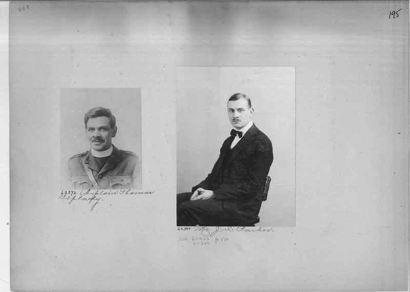 Mission Photograph Album - Portraits #2 page 0195