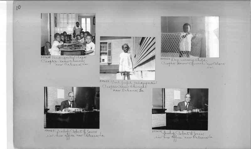 Mission Photograph Album - Negro #6 page 0010