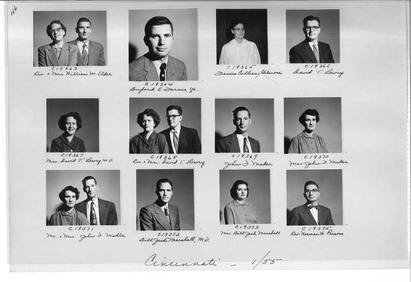 Mission Photograph Album - Portraits #08 Page 0144
