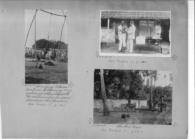 Mission Photograph Album - India - O.P. #02 Page 0209
