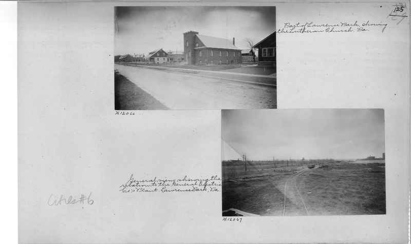 Mission Photograph Album - Cities #6 page 0125