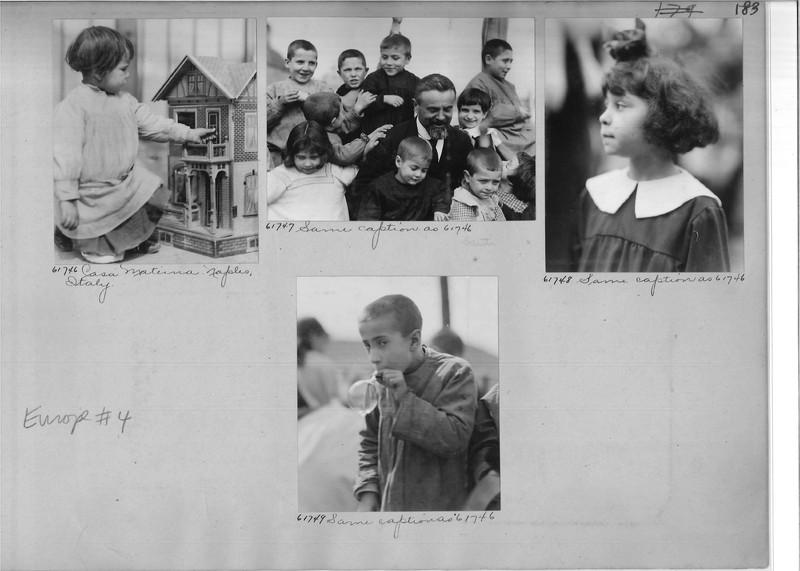 Mission Photograph Album - Europe #04 Page 0183