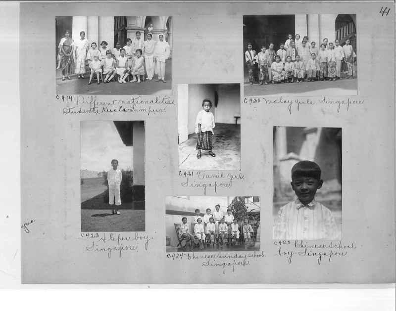 Mission Photograph Album - Malaysia #7 page 0041