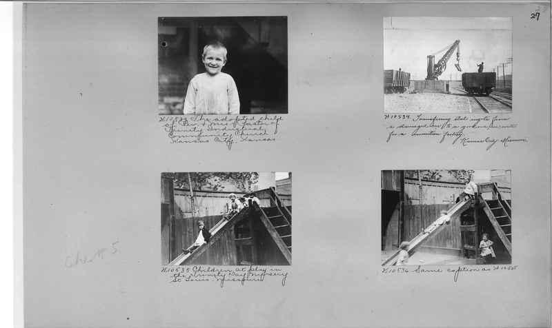 Mission Photograph Album - Cities #5 page 0027