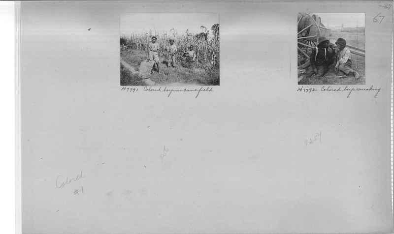 Mission Photograph Album - Negro #1 page 0067