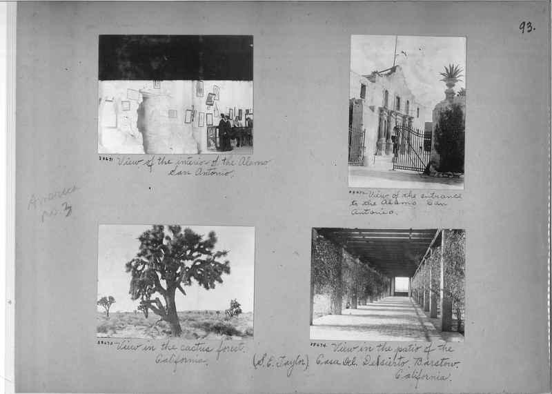 Mission Photograph Album - America #3 page 0093