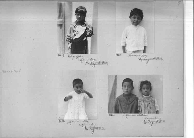 Mission Photograph Album - Mexico #06 page 0007