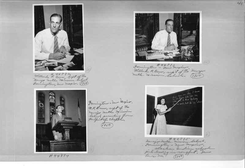 Mission Photograph Albums - Indians #3 Page_0045