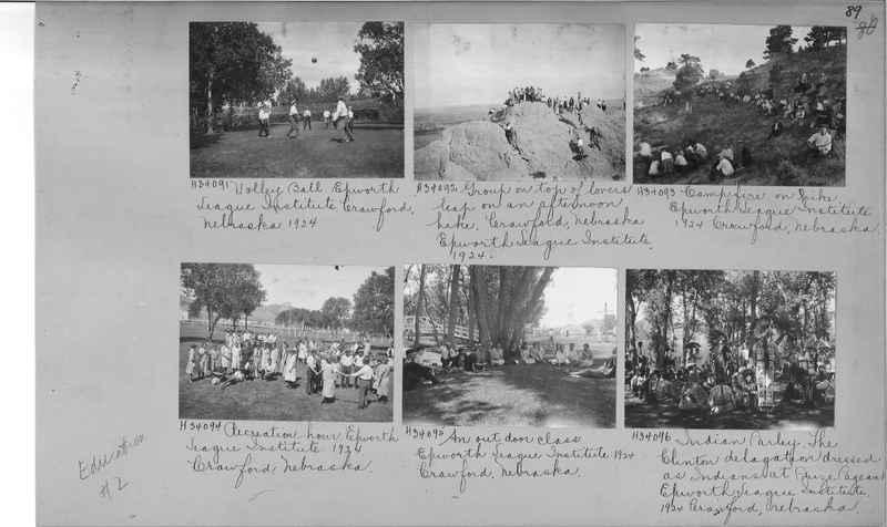 Mission Photograph Album - Education #2 page 0089