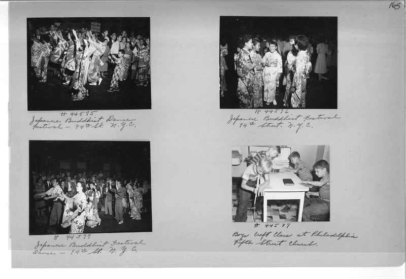 Mission Photograph Album - Cities #18 page 0165