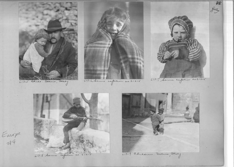 Mission Photograph Album - Europe #04 Page 0085