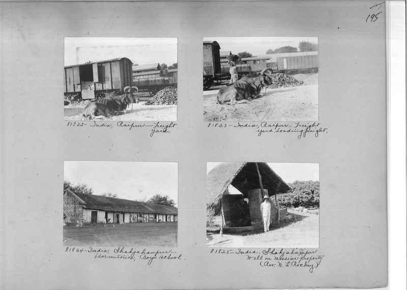Mission Photograph Album - India #09 Page 0195