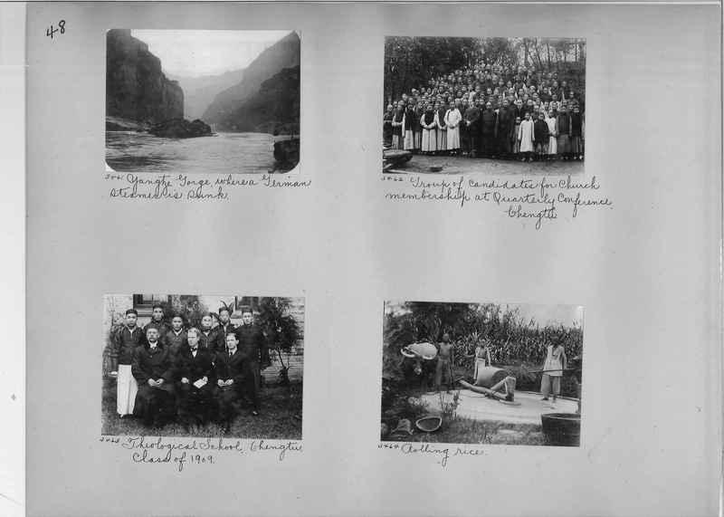Mission Photograph Album - China #2 page  0048