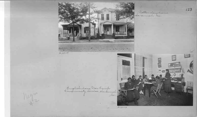 Mission Photograph Album - Negro #2 page 0123