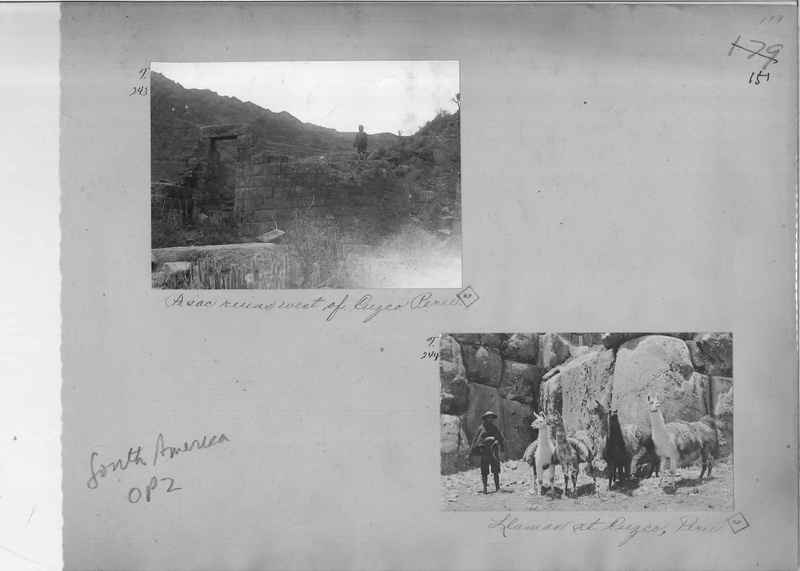 Mission Photograph Album - South America O.P. #2 page 0151