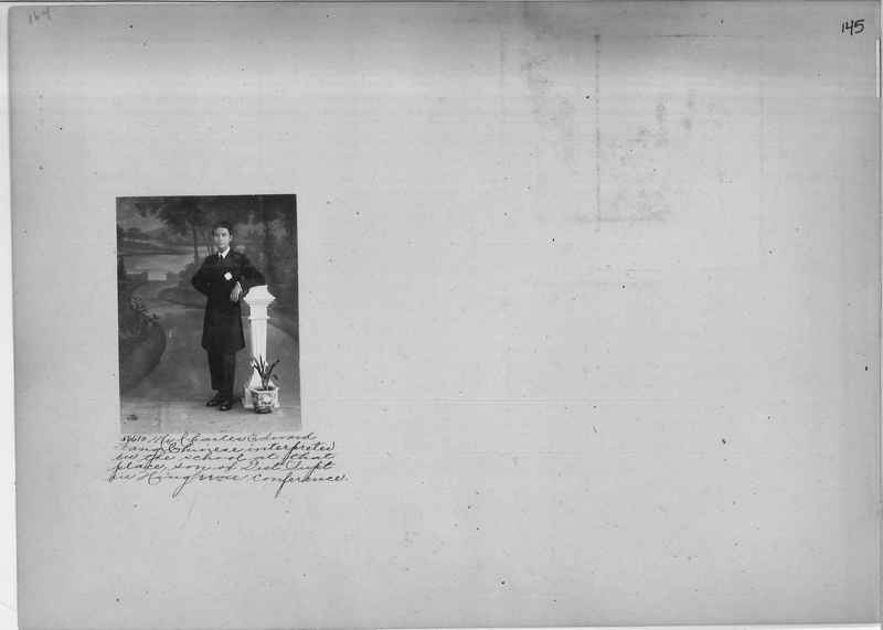 Mission Photograph Album - Portraits #2 page 0145
