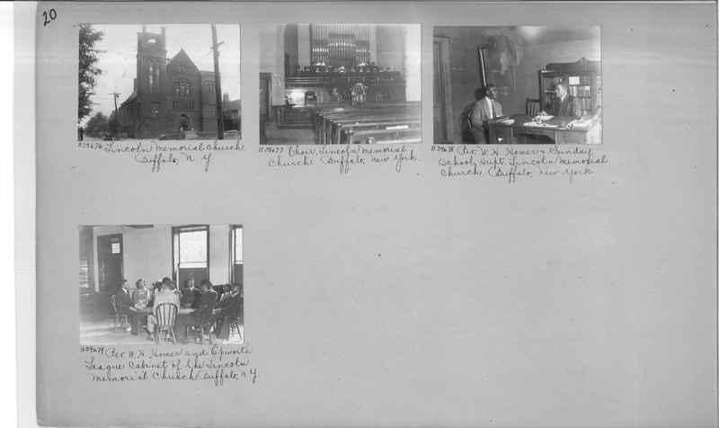 Mission Photograph Album - Negro #6 page 0020