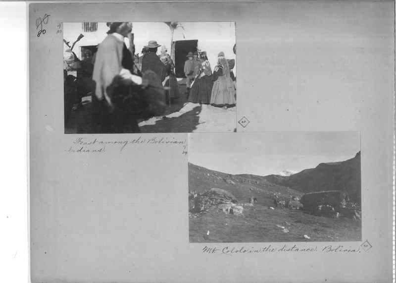 Mission Photograph Album - South America O.P. #2 page 0080